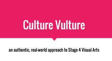 Culture Vulture Workshop