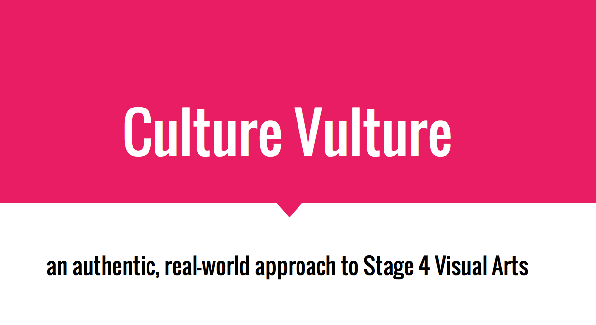 Culture Vulture Workshop